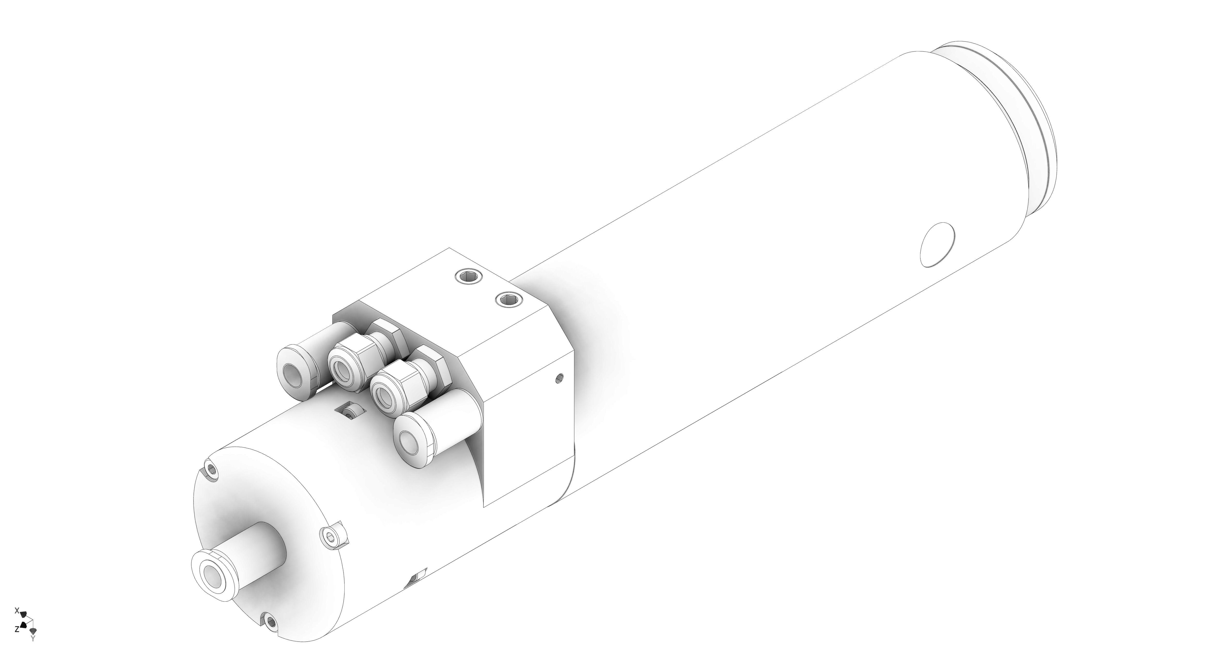 Broche de la Micro5 en schéma